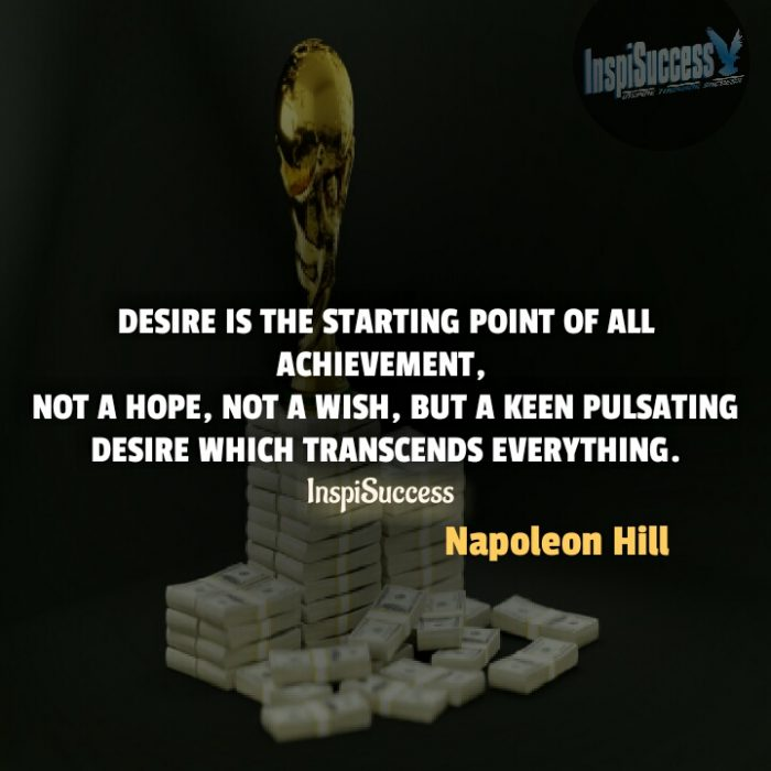 Best Collection Of Napoleon Hill Success Quotes Inspisuccess