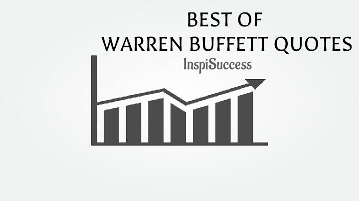 Warren Buffett Quotes - InspiSuccess